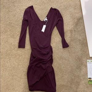 Gorgeous wine colored James Perse Dress